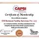 CAPSI Certificate Of Membership